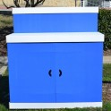"""The Tailgater"" Serving Bar - Blue"