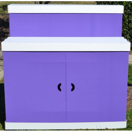 """The Tailgater"" Serving Bar Purple"