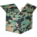 The Camo Moving Box - Green/Small