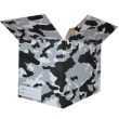 The Camo Moving Box - Black/Large