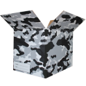 The Camo Moving Box - Black/Small