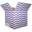The Chevron Moving Box - Purple/Large