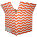 The Chevron Moving Box - Orange/Small